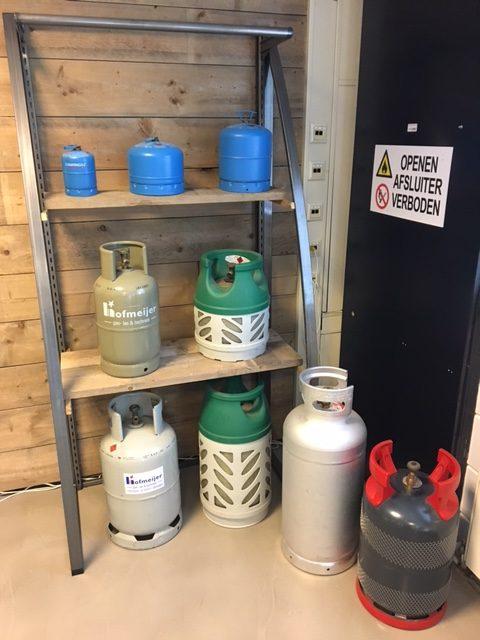 Wonderbaarlijk Gasfles vullen of ruilen – Hofmeijer gas en las techniek BD-17